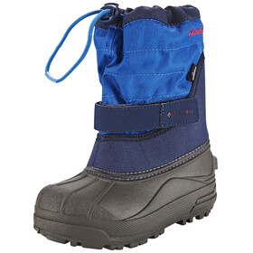 Columbia Powderbug Plus II Boots Kids, collegiate navy / chili